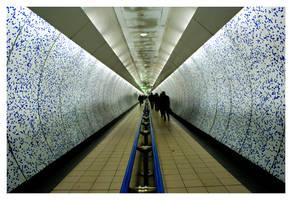 London tube by phoebsbuffay