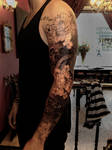 Skull tattoo Akumashugi