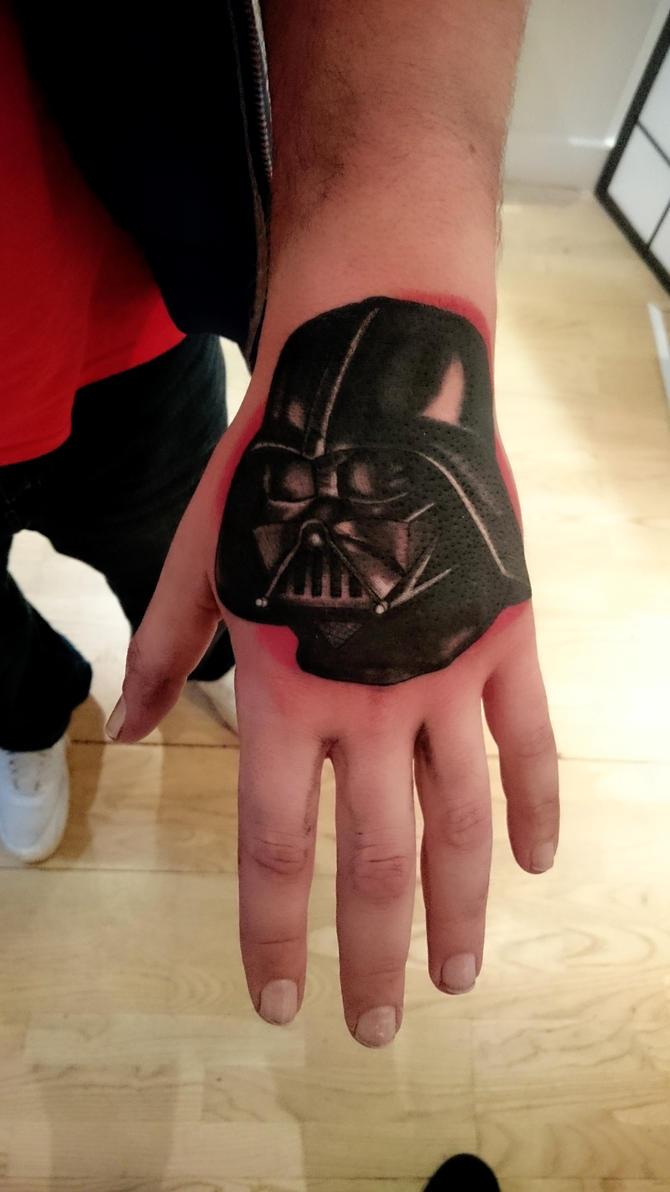 Darth Vader Hand by Akumashugitattoo on DeviantArt