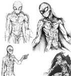 Spidey Fanart Sketches