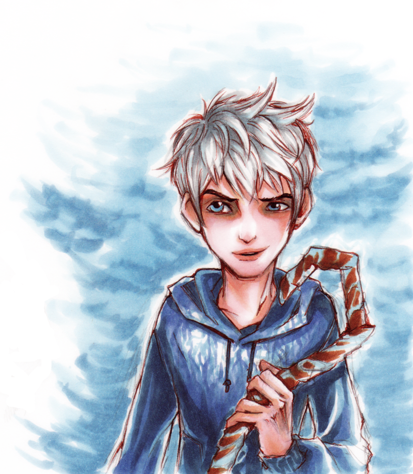 Jack Frost doodle by Tanashi
