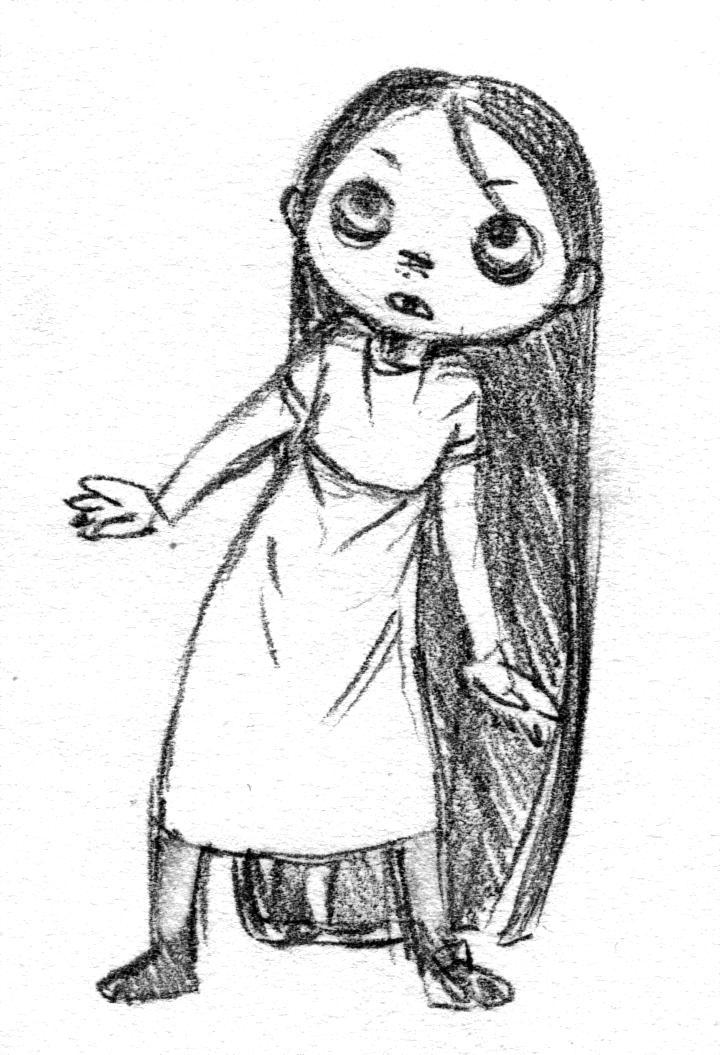 Creepy Girl by Tanashi