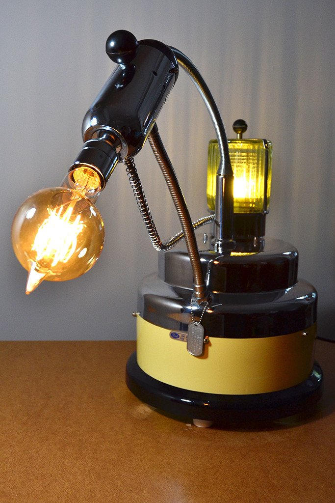 The Vaporiser Unusual Table Lamp By