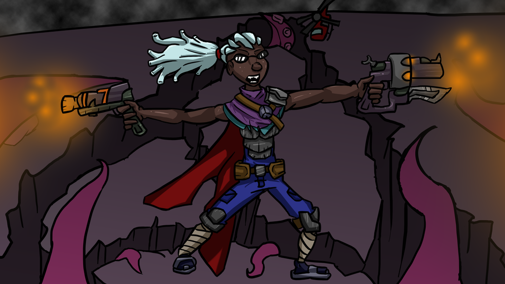 Hired Gun Lucian by Kr...