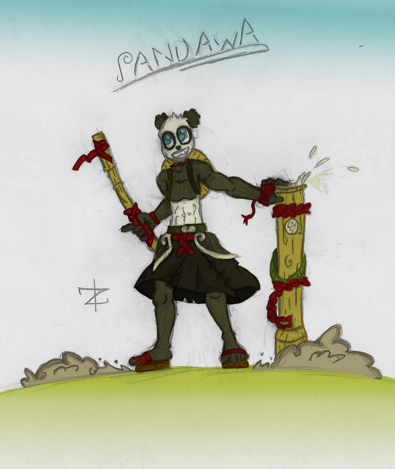 Pandawa Colored! by KreatoZaruss