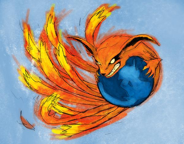 Firefox 9.0 by Inochi-Zero