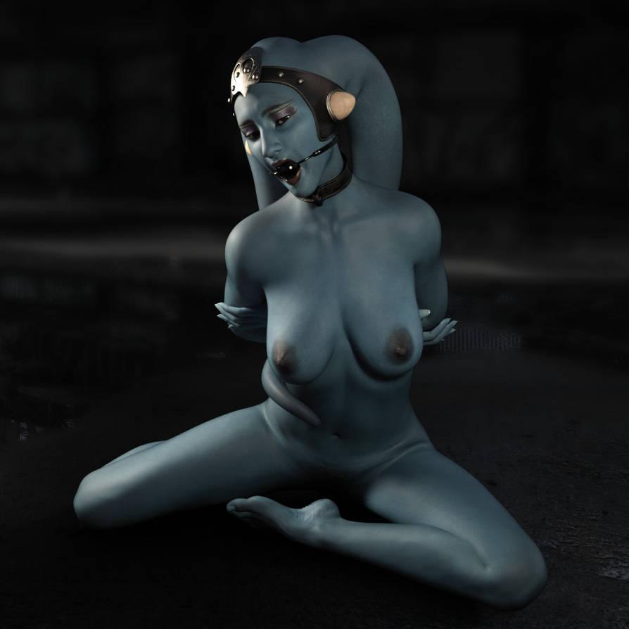 Blue Twilek by RenderHub