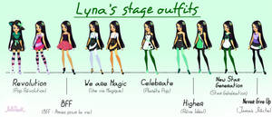 Lyna LoliRock Concert Outfits