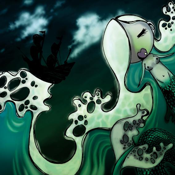 Andersen Project 2005 -Mermaid by melanotelia