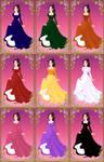 MonstarzGirl Nine Colors of the Rainbow 1