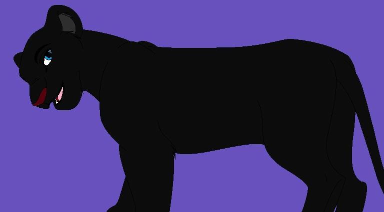 Lion King Oc Victoria S Black Leopard Form By Monstarzgirl On Deviantart
