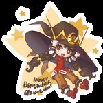 Happy birthday, Ake-tan! by Lady-Bullfinch