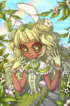 Halfbody Commission 18 - Princesspistachio