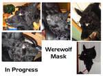 Werewolf Mask - In Progress