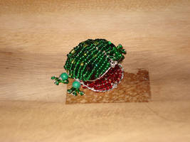 beaded frog by hippiegothelfe
