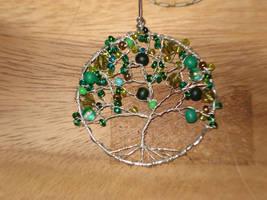 Tree pendant by hippiegothelfe