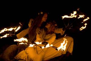 Fireelves by hippiegothelfe