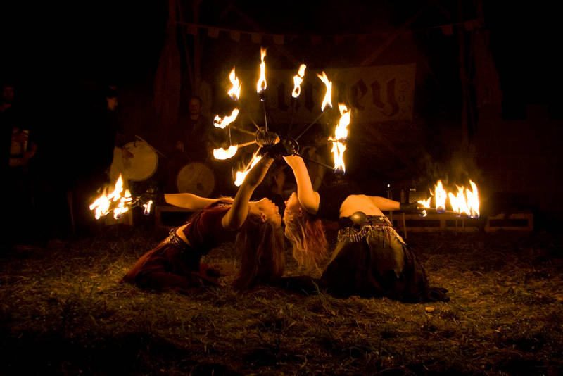 fire performance by hippiegothelfe