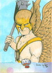 Hawkman PSC by LauraInglis
