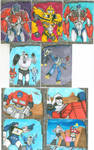 Transformers Sketch Cards part 1 by LauraInglis