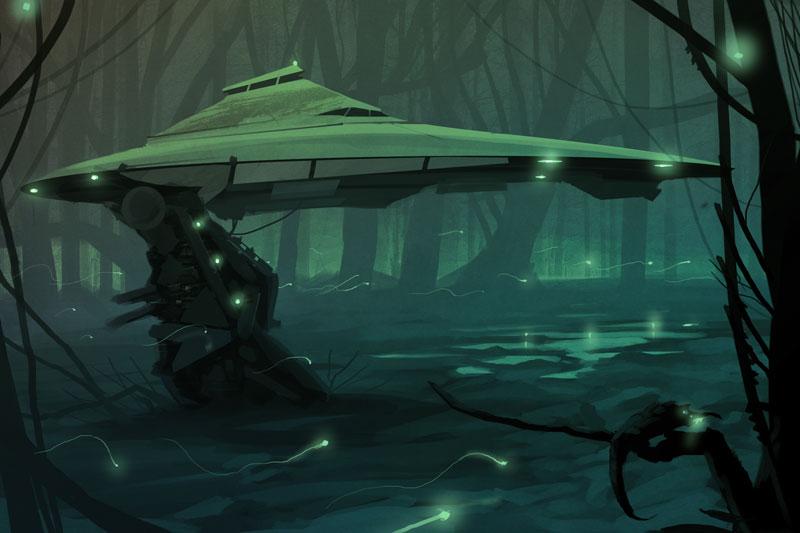 Alien Planet by Sarafinconcepts on DeviantArt