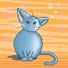 Pixel cat by Sareth27