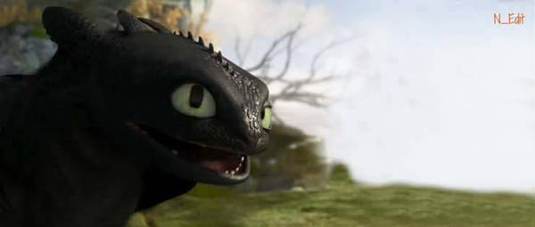 Toothless Night Fury edit by BestiaSmoczaFuria