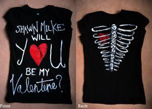 Shawn Milke Valentine Shirt