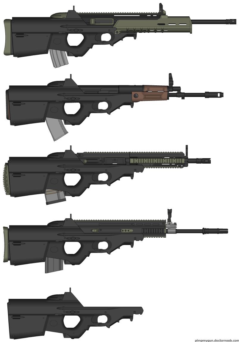 F2000 Mashup Set 1 - ARs  F 2000