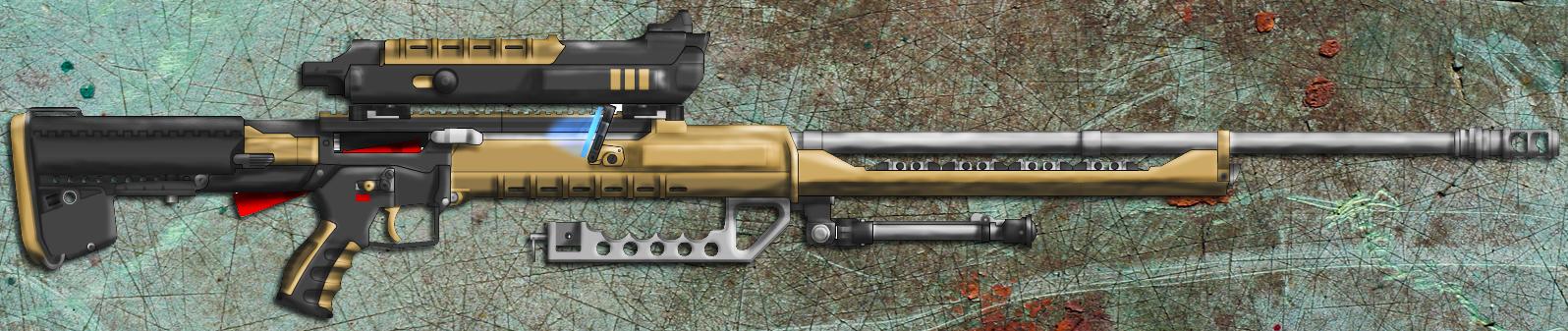 Cyberpunk Sniper by Lord-Malachi