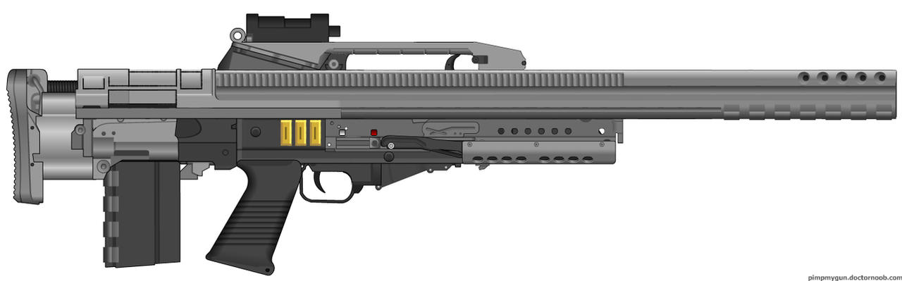 Punk Bullpup Battle Rifle by Lord-Malachi