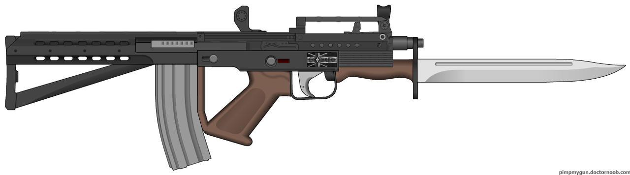 BE Roscram Rifle by Lord-Malachi