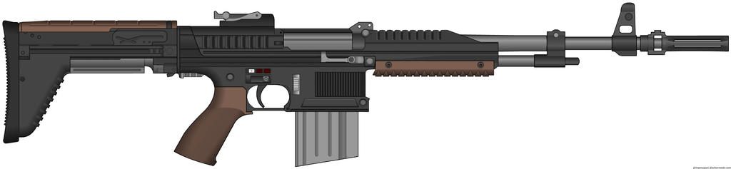 BE M46 Assault Rifle by Lord-Malachi