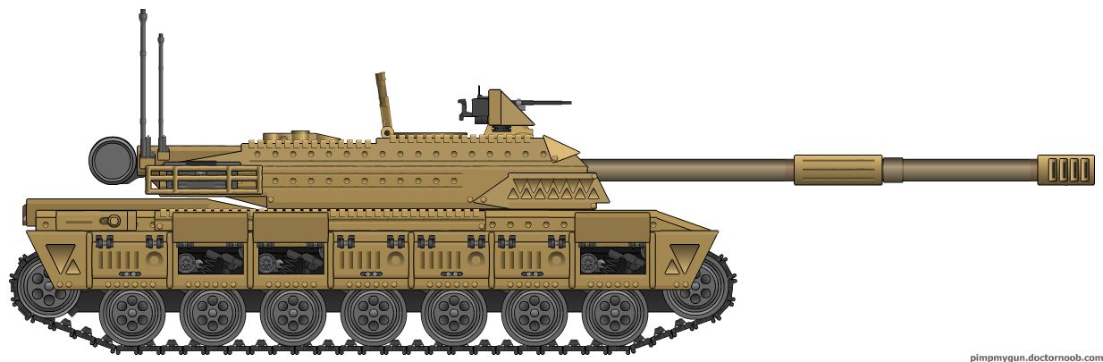 BE Challenger MBT by Lord-Malachi