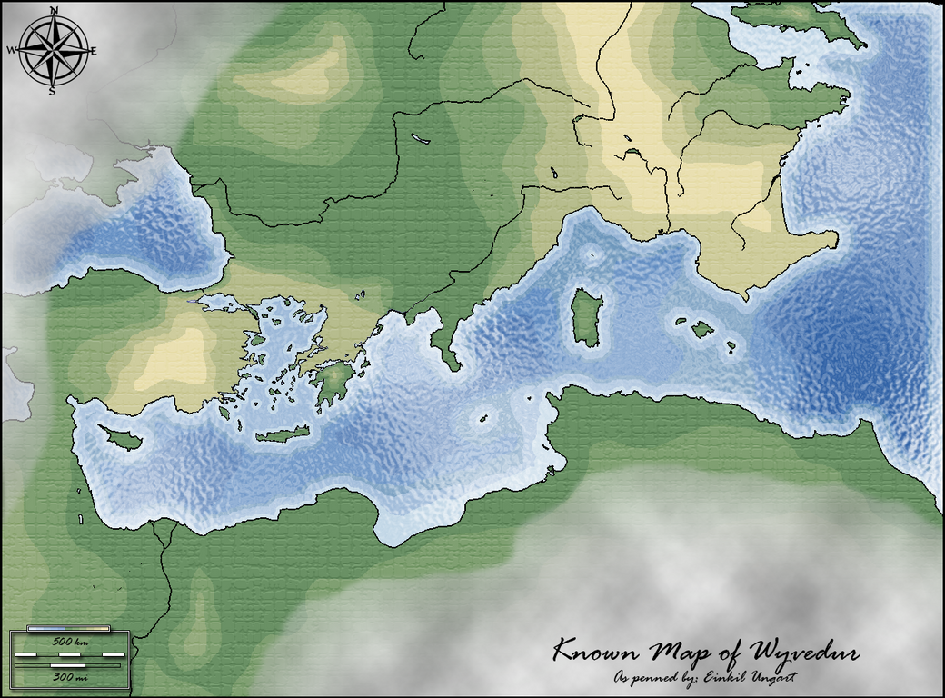 Wyvedur Height Map by Lord-Malachi