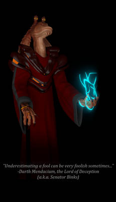 Sith Lord of Deception... Jar Jar Binks