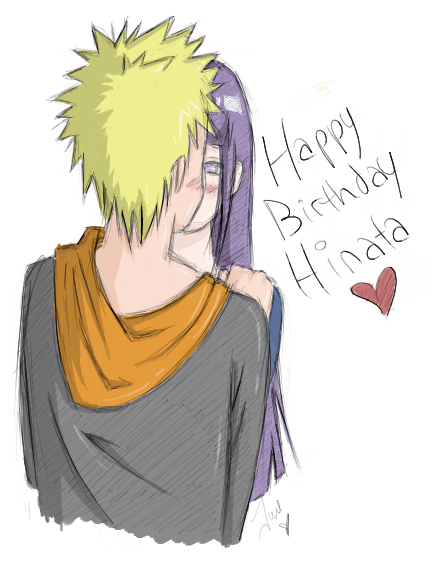 HAPPY BIRTHDAY HINATA by Lolli-Chan