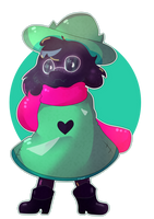 ralsei deltarune by piece-of-trashh