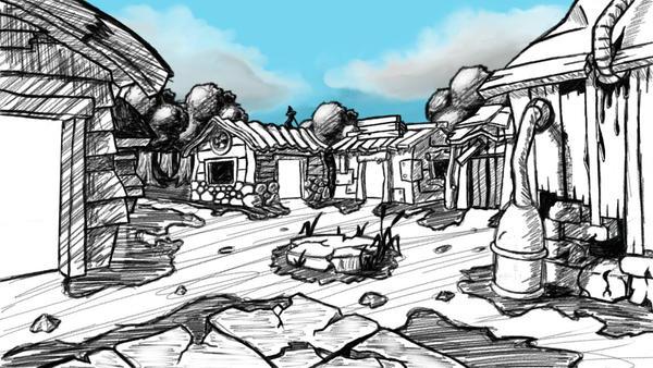 Starter Town by SkidRunner666