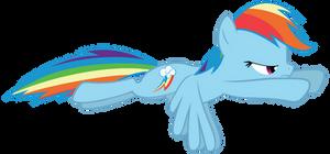Rainbow Dash Flying.2