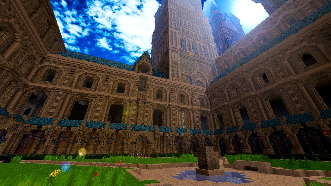 hogwarts in minecraft by dasduriel on deviantart