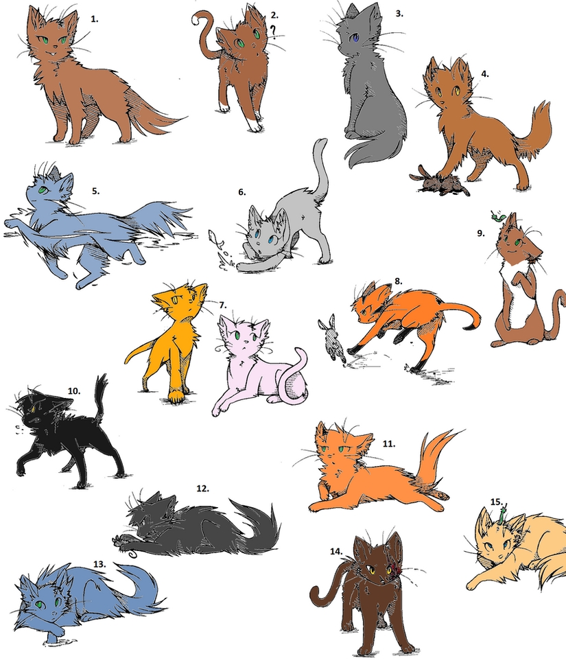Good Warrior Cat Names For A Ginger Cat