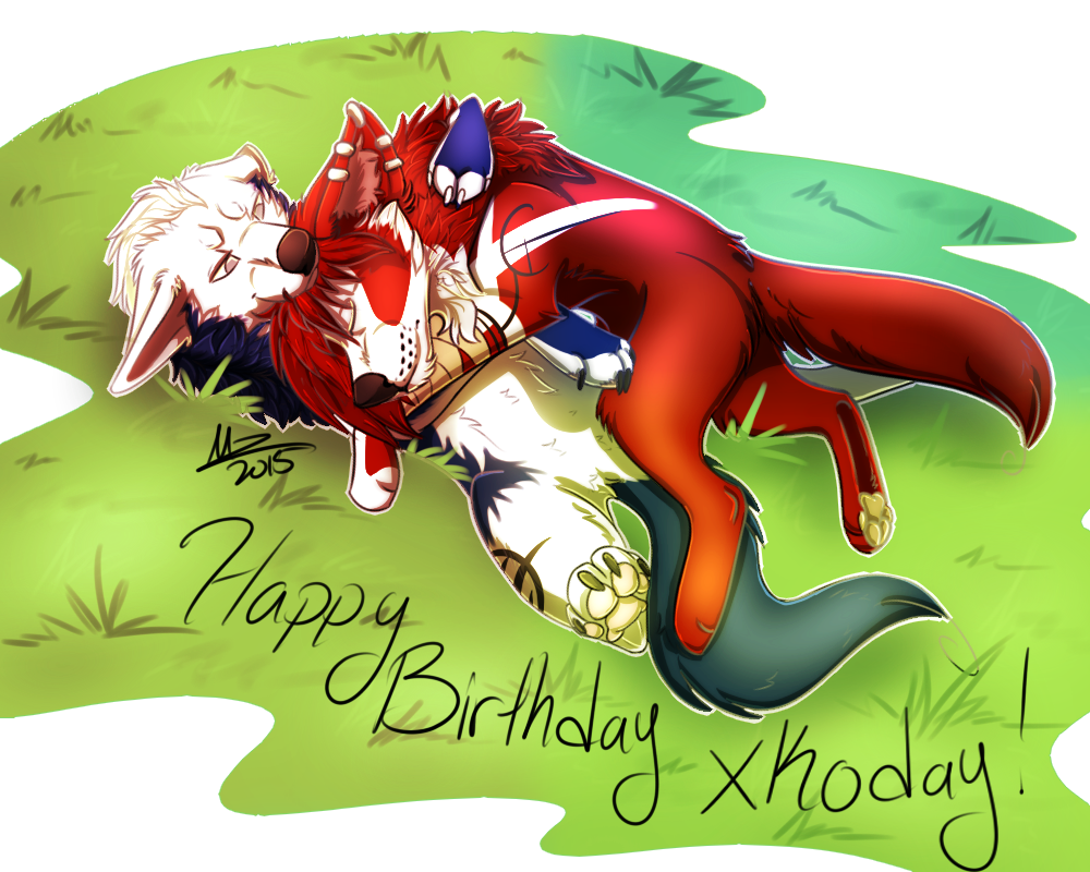 Happy Birthday xKoday by Mzclueless