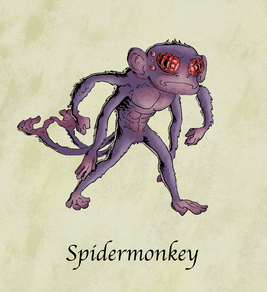 Spidermonkey by MarkHartman