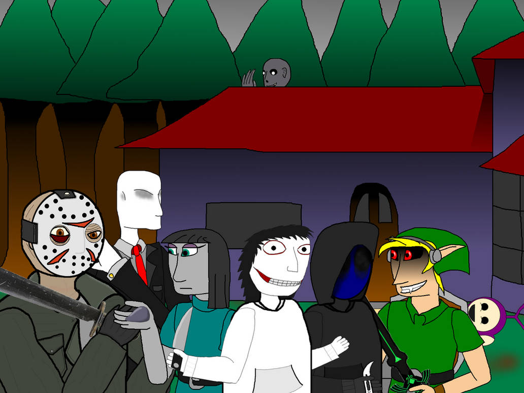 Creepsters For Hire Group Photo (Official) by catoclum
