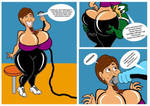Brenda in the Gym part 5