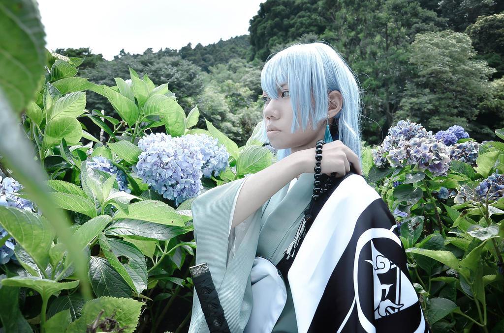 Kousetsu with Hydrangea by JUTING