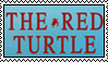 The Red Turtle Stamp by Amalockh1