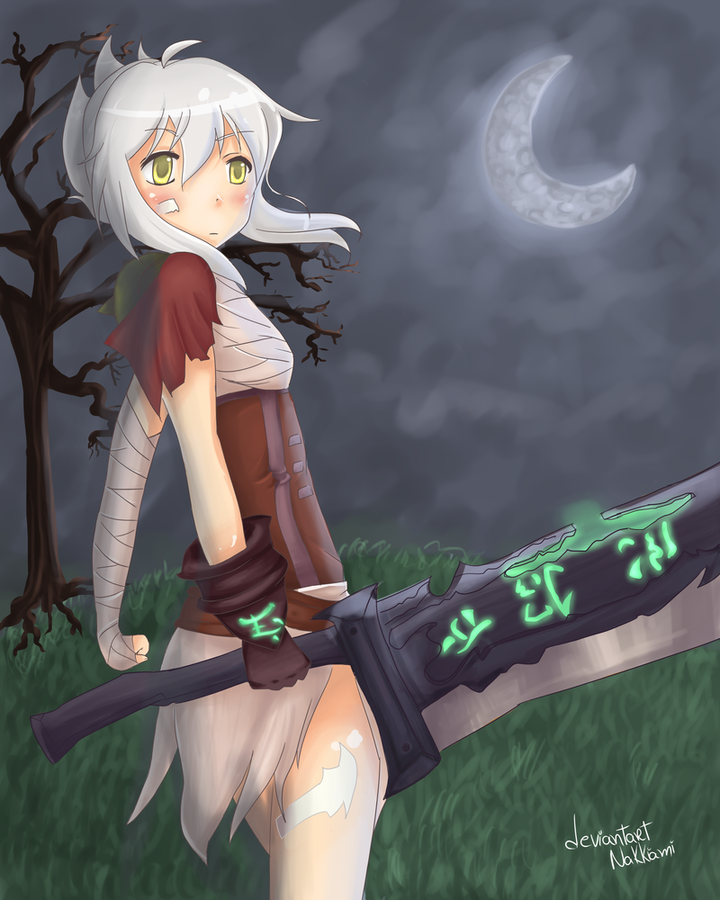 Riven- League of Legends by Nakkiami