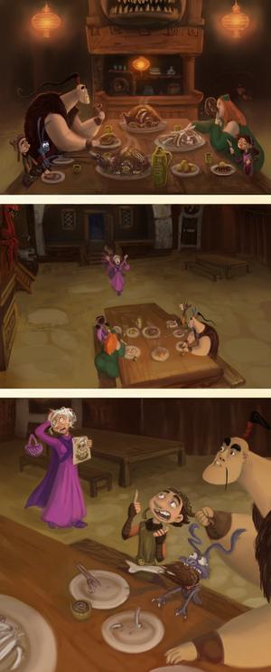 DRAGON HUNTERS ERA: INTERRUPTED DINNER